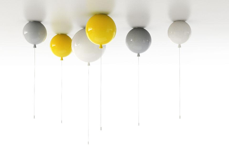 La Lampe Ballon De Brokis Milk Decoration