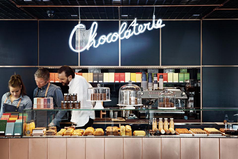 La chocolaterie de Cyril Lignac  MilK decoration