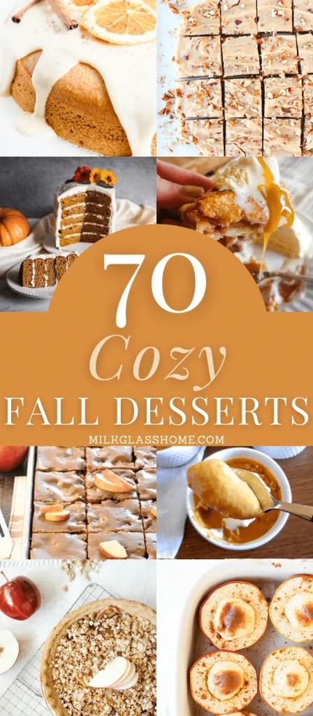 70 cozy fall desserts 2020
