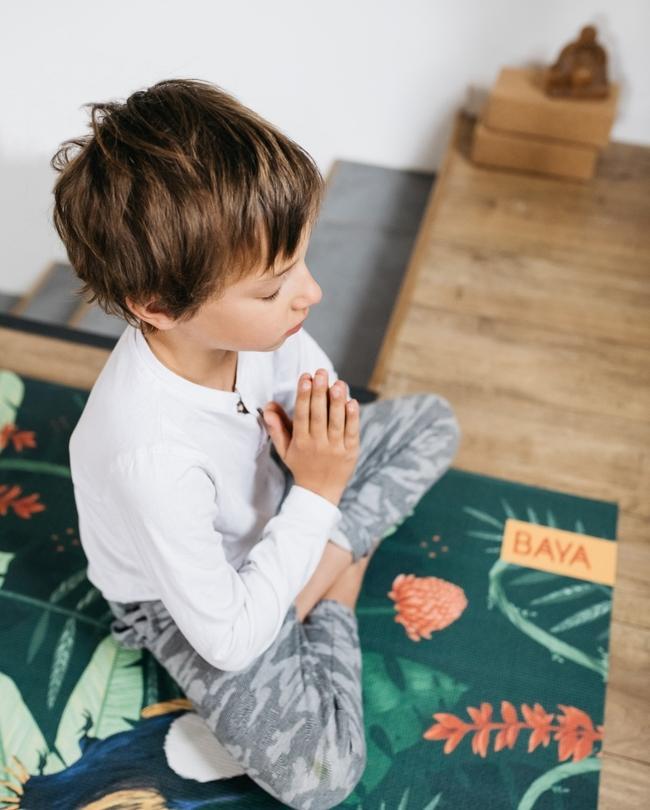 yoga les tapis baya kids milk
