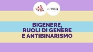 bigenere, ruoli di genere e antibinarismo