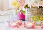 Image of flowers and candles
