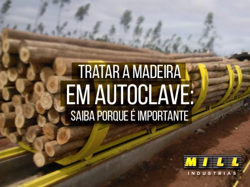 Tratar a Madeira em Autoclave: Saiba porque é importante