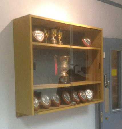 M012Trophy Cabinet  millarwest 2nd User  Quality second