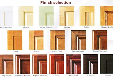 Kitchen Cabinet Finish Types