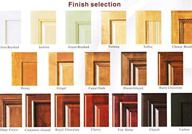Kitchen Cabinet Finish Types