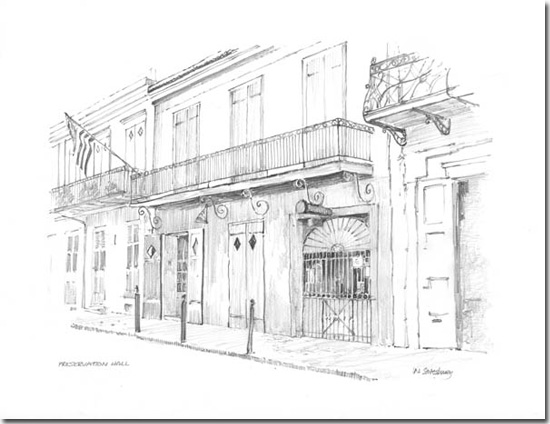 Millbury Drawings & Prints Ltd New Orleans French Quarter