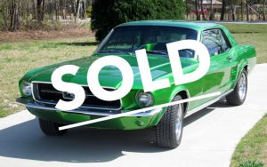 Classic Car Restoration Ford Mustang 1967 by Mill Creek Classics SOLD