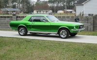 Classic Car Restoration Ford Mustang 1967 front right side by Mill Creek Classics Car Restoration and Sales