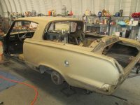 Classic Car Restoration Plymouth Barracuda 1965 by Mill Creek Classics 20171005_0134
