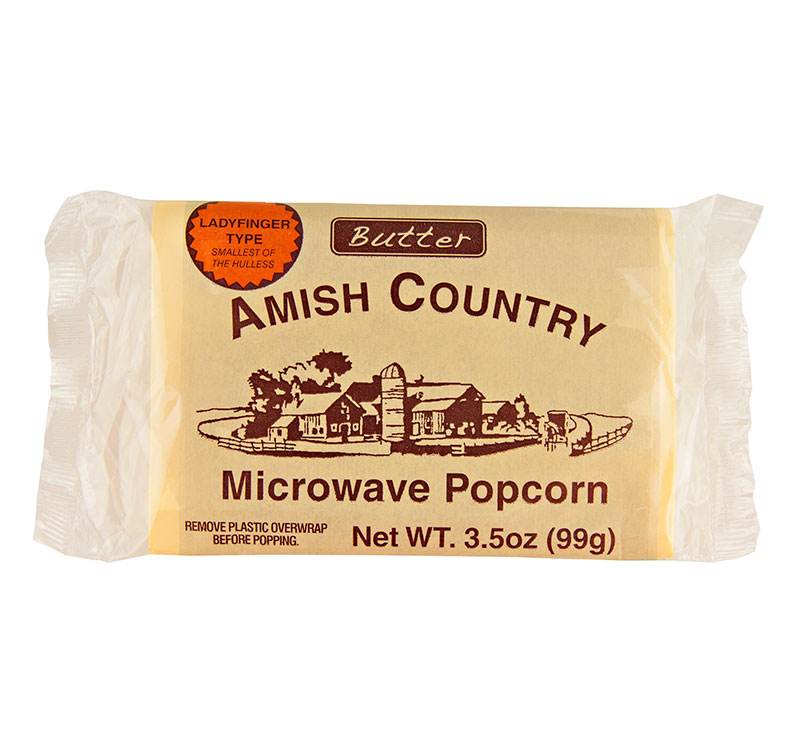 amish country popcorn ladyfinger type