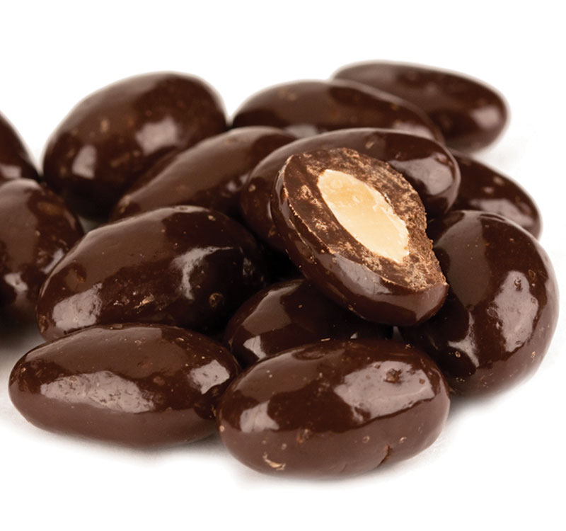 Dark Chocolate Almonds 15lb – Mill Creek General Store