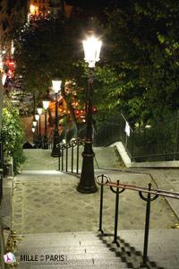 Location Saisonnire Vacances  Paris Montmartre Appartement Rue Berthe