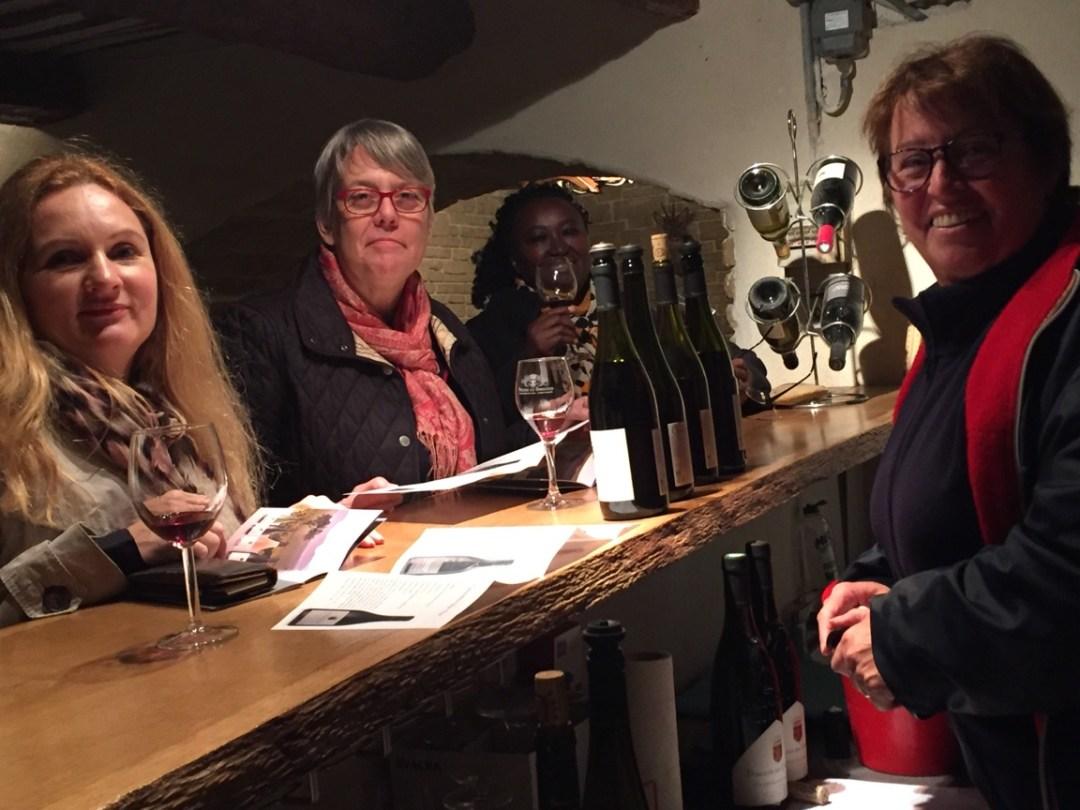 Visite d'une cave à vin