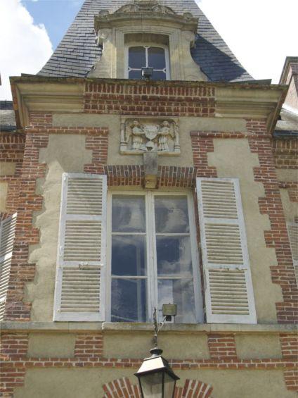 chateau d osmoy salle de mariage romantique champetre normandie eure 27 vue chateau entree millemariages