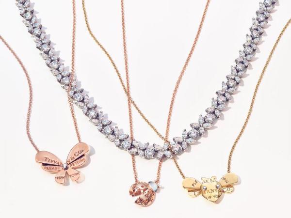 TIFFANY-CO.-RETURN-TO-TIFFANY-LOVE-BUGS-COLLECTION pendentifs diamants