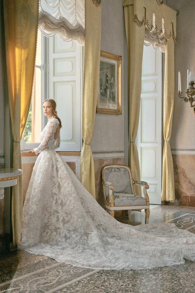 robe de mariée Monique Lhuillier collection mariage automne 2020 pour mille mariages robe n°10