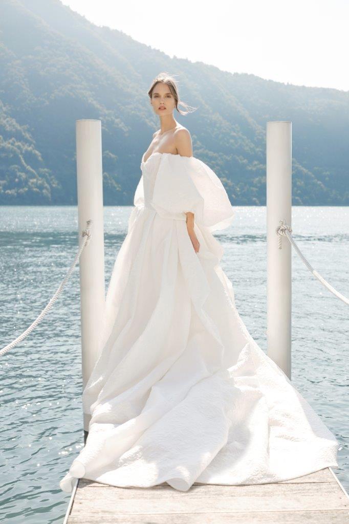 robe de mariée Monique Lhuillier collection mariage automne 2020 pour mille mariages robe n°17