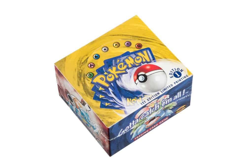 Une boite de booster Pokémon vendue 360 000$