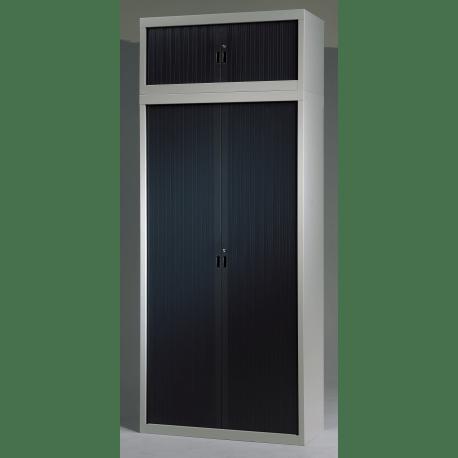 surmeuble a rideaux pour armoire metallique