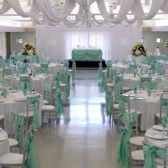 Custom Banquet Chair Covers Small Dining Room Chairs With Arms Wedding Hall Decoration Chicago Ballroom Rental Weddings Bodas Quinceaneras ...