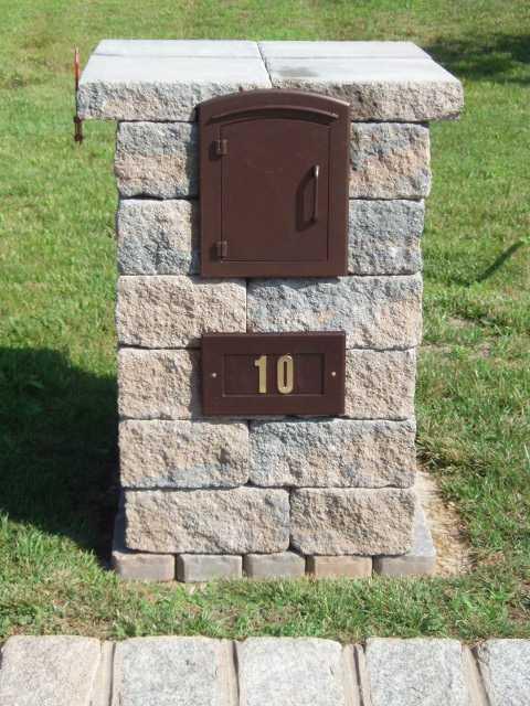 Mailbox Photos  Custom Mailbox Design Photos