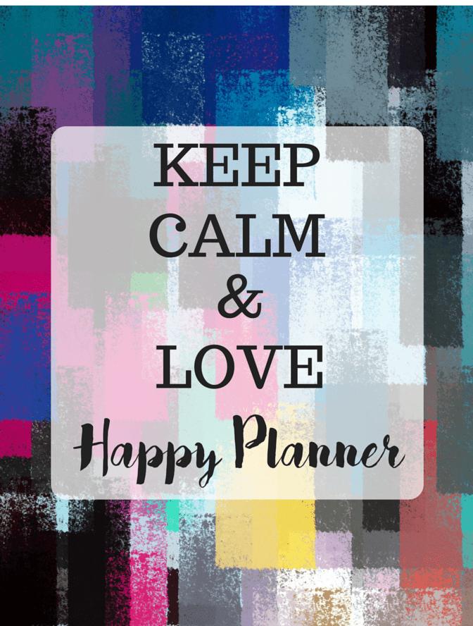 Fab Planner Fridays The Happy Planner Life millennialbeautysisters.com