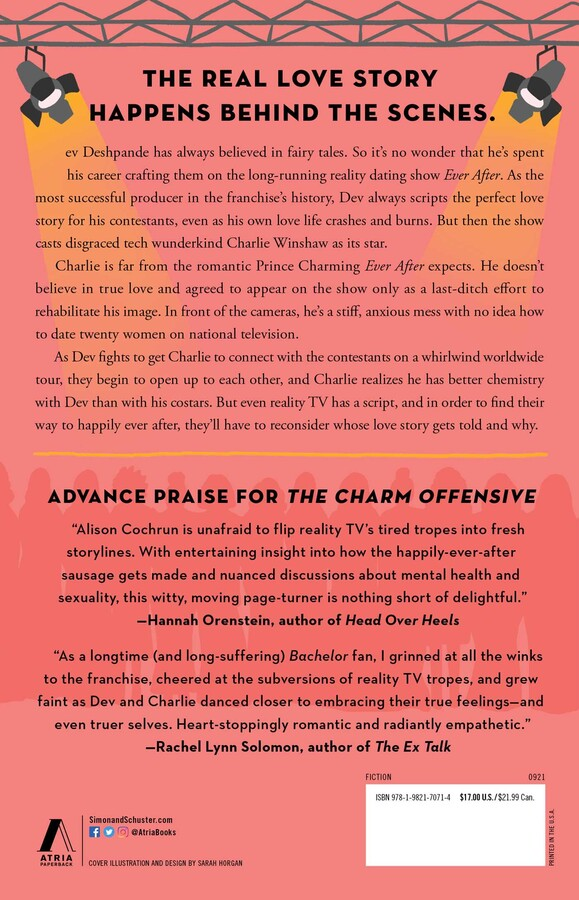 back cover of The Charm Offensive.