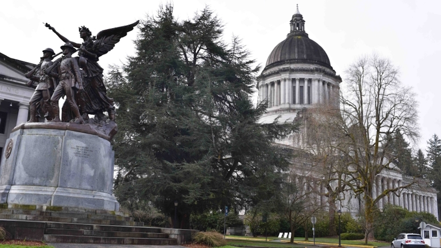 Millennial-Going-Down-Olympia-Washington-State-Capitol