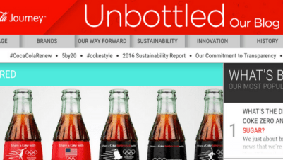 coke blog and why your business needs a blog