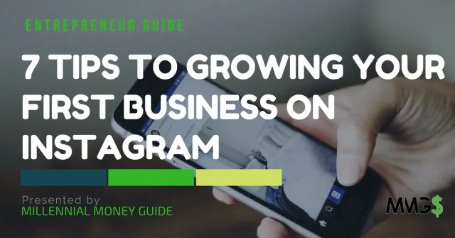 growing your first business on instagram