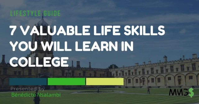 life skills learned in college