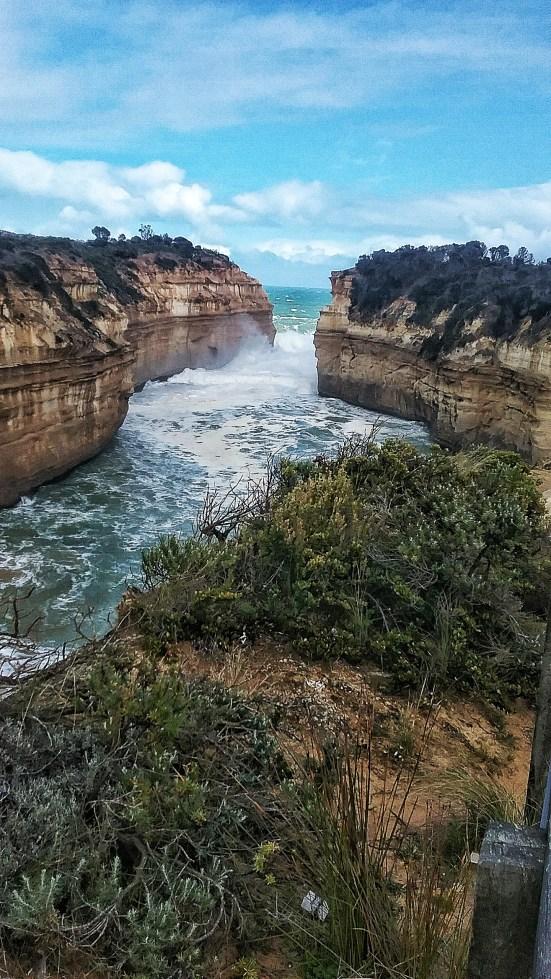 Great Ocean Road, Loch Ard Gorge, Razorback, Melbourne, Australia