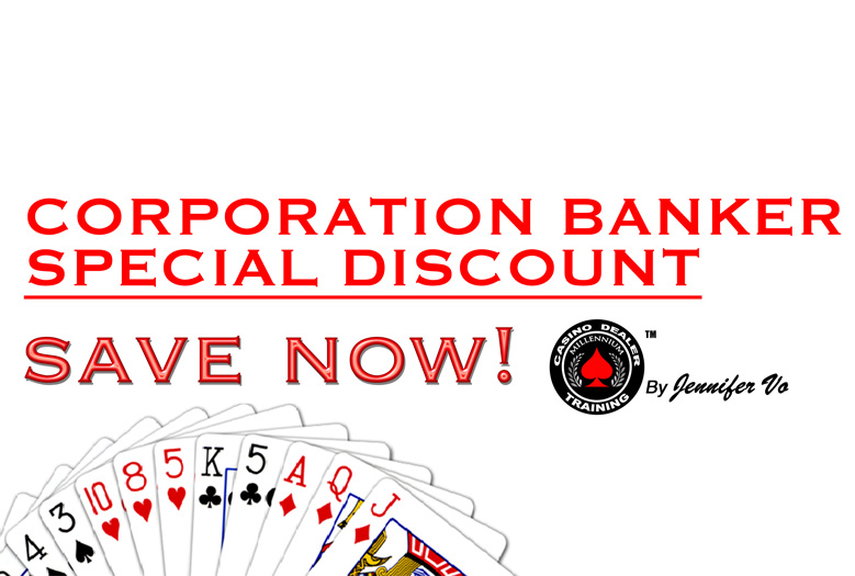 CORPORATION BANKER ONLY SPECIAL! CATCH IT THIS WEEK ONLY