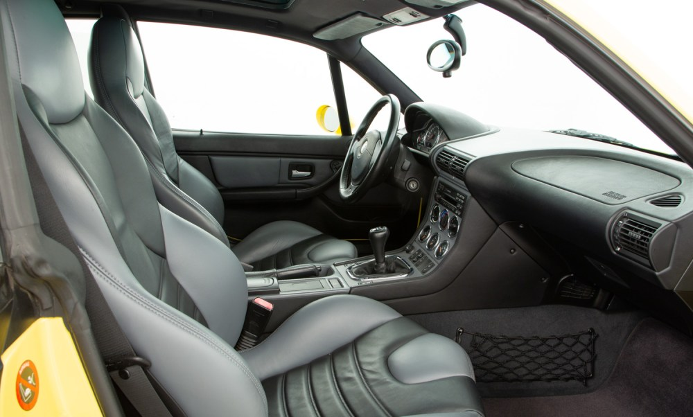 medium resolution of  bmw z3 m coupe for sale interior 4