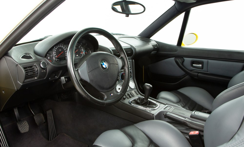 medium resolution of  bmw z3 m coupe for sale interior 2