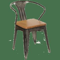 Industrial Metal Chairs Saarinen Grasshopper Lounge Chair Millennium Seating Usa Restaurant