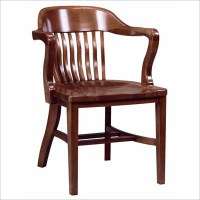 688 Wood Arm Chair | Millennium Seating