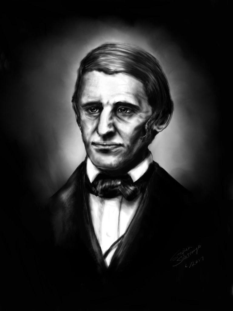 Ralph Waldo Emerson Portrait