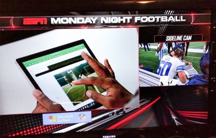 ESPN - Monday night football