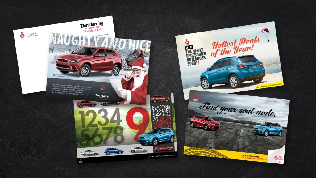 Don Herring Mitsubishi direct mail