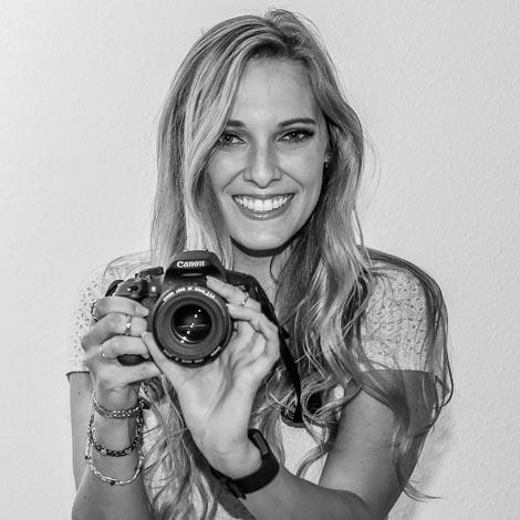 Jordan with her camera