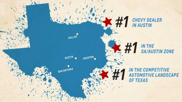 Capitol Chevy No. 1 Dealer in Austin, zone, and automative landscape of Texas