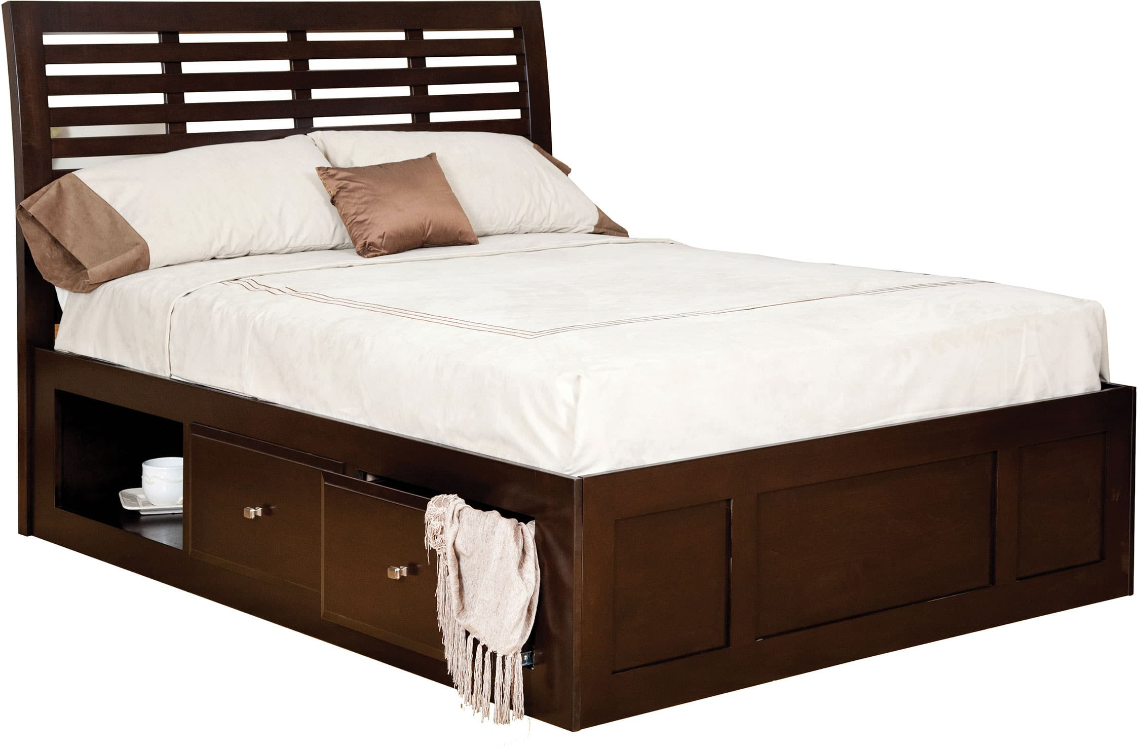 Park Avenue Bed w/ Drawers