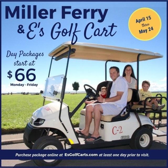 Es Put-in-Bay Golf Cart Package