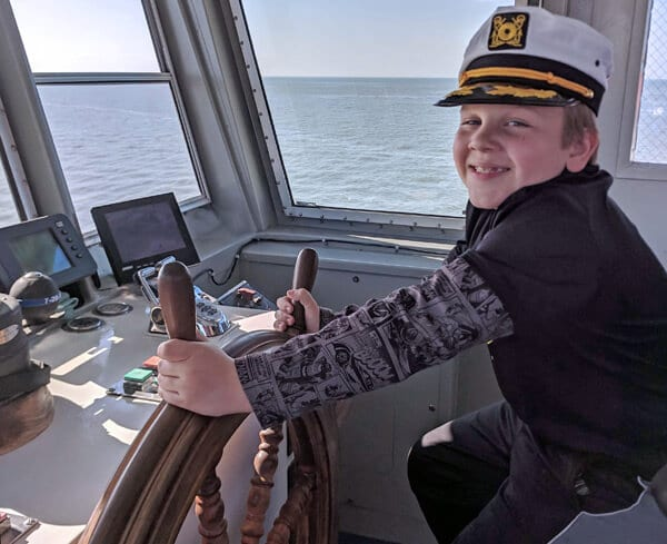 Miller Ferry Captain for a Day Contest