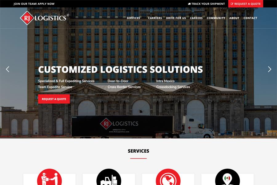 website portfolio samples industrial