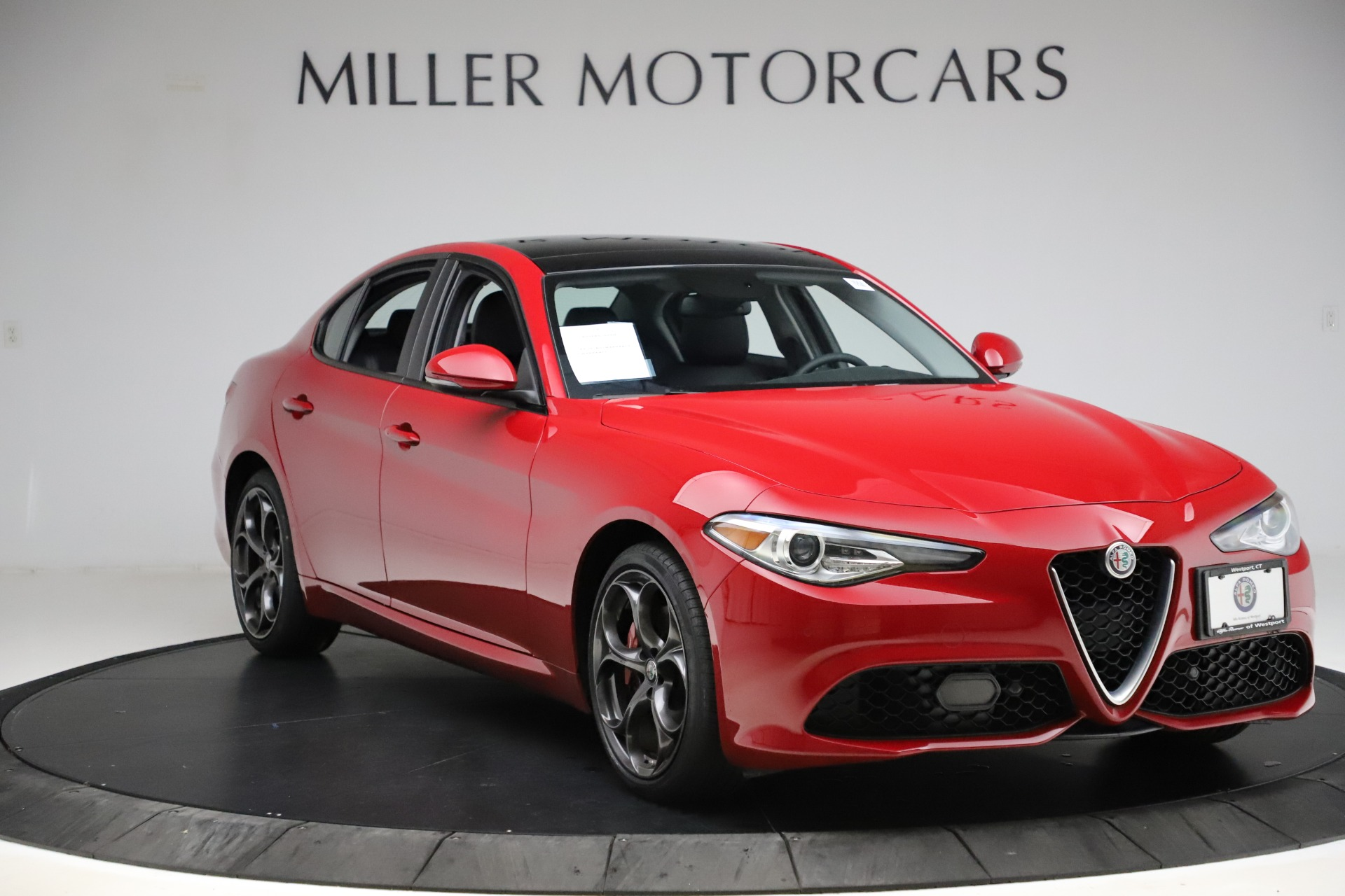 New 2018 Alfa Romeo Giulia Ti Sport Q4 For Sale () | Miller Motorcars Stock #LW072