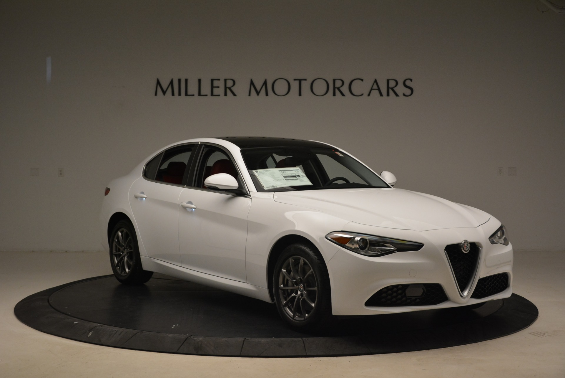 New 2018 Alfa Romeo Giulia Q4 For Sale ($44.785) | Miller Motorcars Stock #LW214