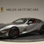 Pre Owned 2018 Ferrari 812 Superfast For Sale Miller Motorcars Stock F1850b